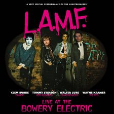 FREUDCD124 LAMF Live at the Bowery Electric LP sleeve 225px